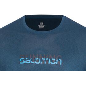 Salomon Agile Graphic T-paita Miehet, night sky